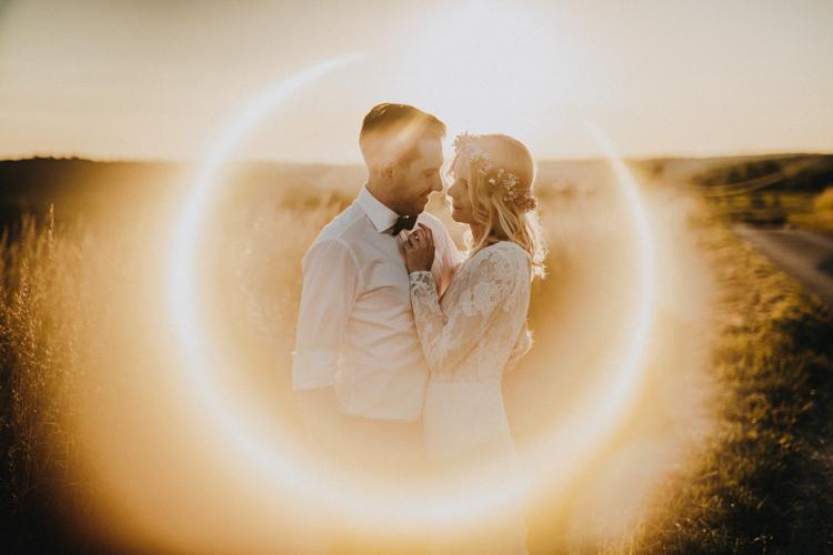 oryginalna sesja ślubna